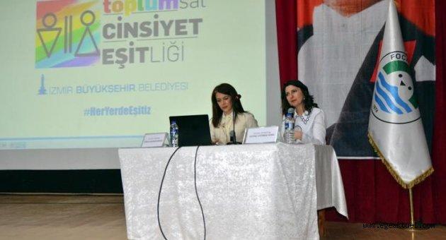 Büyükşehir'den 30 ilçede toplumsal cinsiyet eşitliği semineri