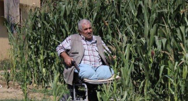 İki bacağını kaybetti, yaşama sevincini hiç kaybetmedi