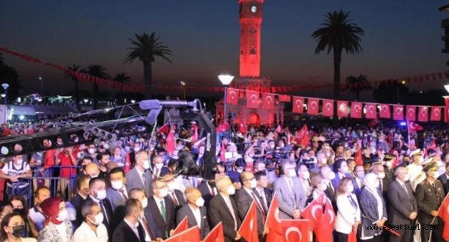 İzmir'de 15 Temmuz Anması
