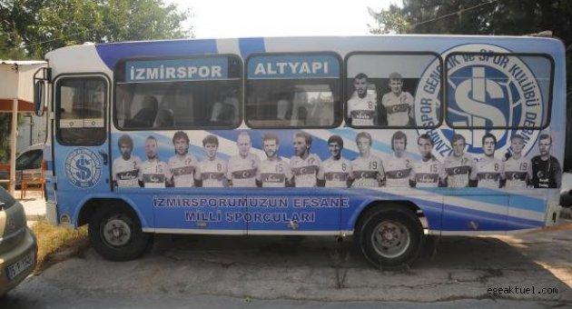 İzmirspor o minibüsü 1 yıldır depodan çıkaramadı