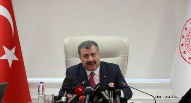 Sağlık Bakanı Fahrettin Koca açıkladı: Toplam vaka 7 bin 402, can kaybı 108