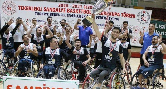 Tekerlekli Sandalye Basketbol Takımı 17 yıl aradan sonra yeniden şampiyon