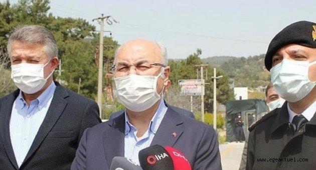 Vali Köşger, kentte Kovid-19 vaka sayısında düşüş olmadığını söyledi